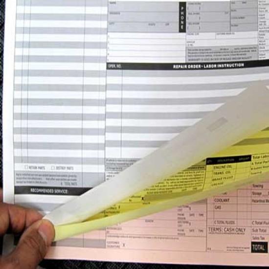 NCR Carbonless Forms 1-2 Color Digital Print