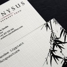 Linen cards 100lb