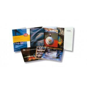 9X12 Glossy Presentation Folder